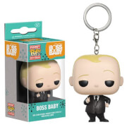Boss Baby Suit Version Pocket Pop! Key Chain