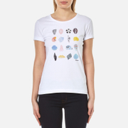 Barbour Women's Coral T-Shirt - White