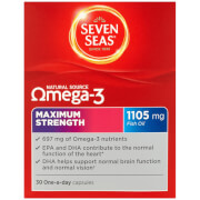 Seven Seas Omega 3 Maximum Strength - 30 Capsules