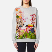 Versace Jeans Women's Printed Jumper - Multi