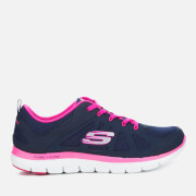 Skechers Women's Flex Appeal 2.0 Simplistic Trainers - Navy/Pink