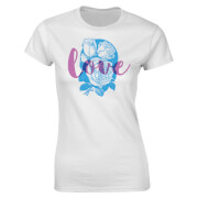 Valentines Women's Love T-Shirt - White