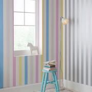 Superfresco Easy Kids' Pastel Stripe Wallpaper
