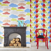 Graham & Brown Kids' Harlequin Brights Wallpaper