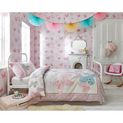 Graham & Brown Kids' Butterfly Pink/Multi Wallpaper