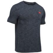 Under Armour Men's Threadborne Seamless T-Shirt - Stealth Grey/Phoenix Fire
