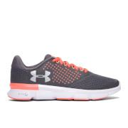 Under Armour Women's Micro G Speed Swift 2 Running Shoes - Rhino Grey/London Orange