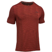 Under Armour Men's Threadborne Seamless T-Shirt - Red/Black