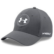 Under Armour Men's JS Tour Golf Cap - Graphite/White