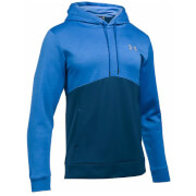 Under Armour Men's Storm Armour Fleece Twist Hoody - Blackout Navy/Blue Marker