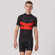 PBK Velocista Jersey - Black/Red