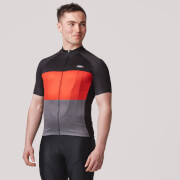 PBK Montagna Jersey - Black/Red/Grey