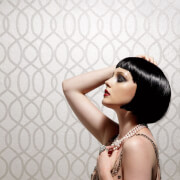 Kelly Hoppen Knightsbridge Bead Shimmer Wallpaper