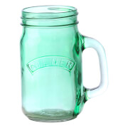 Kilner Handled Jar - Green 0.4L