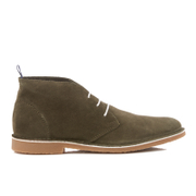 Selected Homme Royce Suede Boots - Green Olive