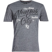 Threadbare Men's Brady New York T-Shirt - Denim