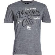 T-Shirt Homme Brady New York Threadbare - Denim