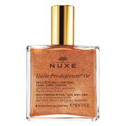 Купить Золотое масло для лица, тела и волос NUXE Huile Prodigieuse Golden Shimmer Multi Usage Dry Oil 50 мл