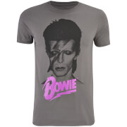 David Bowie Men's Aladin T-Shirt - Charcoal