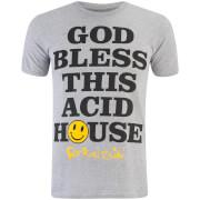 Fat Boy Slim Men's God Bless T-Shirt - Sport Grey