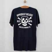 Купить Uppercut Grease Monkey Lives T-Shirt - Navy/White Print - S - Navy/White