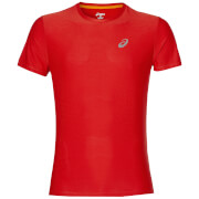 Asics Men's Run T-Shirt - Fiery Red