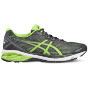 Asics Men's GT 1000 5 Running Shoes - Black/Green