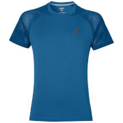 Asics Men's Lite Show Run T-Shirt - Thunder Blue