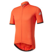 adidas Men's Climachill Short Sleeve Jersey - Red