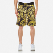 Versace Jeans Men's All Over Print Sweat Shorts - Nero