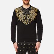 Versace Jeans Men's VJ Logo Sweatshirt - Nero