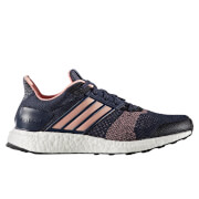 adidas Women's Ultra Boost ST Running Shoes - Midnight Grey