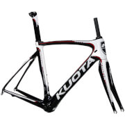 Kuota Kryon Carbon Frameset - White/Red