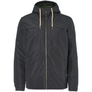 Jack & Jones Men's Originals Calm Zip Through Hooded Jacket - Asphalt