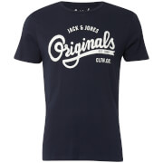 Jack & Jones Originals Men's Swell Logo T-Shirt - Total Eclipse