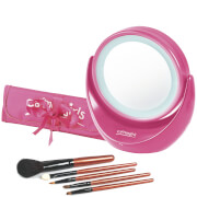 Carmen Girls Vanity Mirror with Light Gift Set - Pink