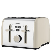 Breville VTT629 Colour Notes 4 Slice Toaster - Cream