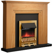 Warmlite WL45017 Oxford Fireplace Suite - Wood Effect