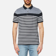 Michael Kors Men's Engineer Stripe Polo Shirt - Midnight