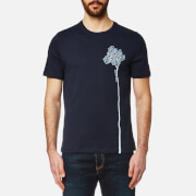 Michael Kors Men's Side Palm Tree Graphic T-Shirt - Midnight