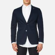 Michael Kors Men's Lino Slim Fit Blazer - Midnight - EU 46/36R - Blue