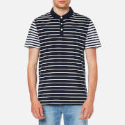 Michael Kors Men's Stripe Block Polo Shirt - Midnight