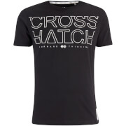 Crosshatch Men's Quebec Logo T-Shirt - Black