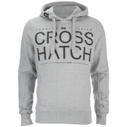 Crosshatch Men's Sevcon Rib Detail Hoody - Grey Marl