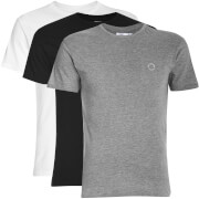 Lot de 3 T-Shirts Ben Sherman -Noir/Gris/Blanc