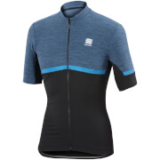 Sportful Giara Short Sleeve Jersey - Blue/Black