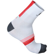 Sportful BodyFit Pro 9 Socks - White/Red