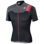 Sportful BodyFit Pro Team Short Sleeve Jersey - Black/Red