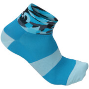 Sportful Women's Primavera 3 Socks - Blue/Turquoise