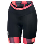 Sportful Women's Primavera Shorts - Black/Pink